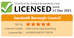 licensed by sandwell council